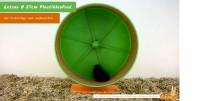 Getzoo Ø 27 cm Plastiklaufrad (Ø 25,4 cm Innen) mit Korkeinlage